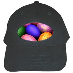 Easter Egg Black Cap