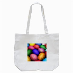 Easter Egg Tote Bag (white)