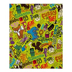 F Pattern Cartoons Shower Curtain 60  X 72  (medium)