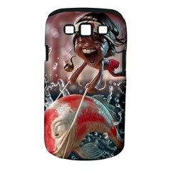 Funny Cartoon Fish Samsung Galaxy S Iii Classic Hardshell Case (pc+silicone) by AnjaniArt