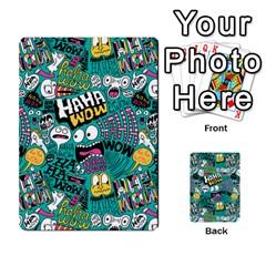 Haha Wow Pattern Multi Purpose Cards (rectangle)