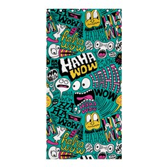 Haha Wow Pattern Shower Curtain 36  x 72  (Stall)  by AnjaniArt