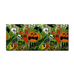 Halloween Pattern Hand Towel