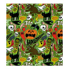 Halloween Pattern Shower Curtain 66  X 72  (large)  by AnjaniArt