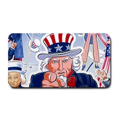 Independence Day United States Of America Medium Bar Mats by Zeze
