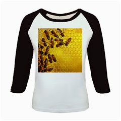 Honey Honeycomb Kids Baseball Jerseys by Zeze
