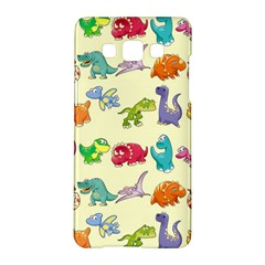 Group Of Funny Dinosaurs Graphic Samsung Galaxy A5 Hardshell Case  by Zeze