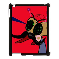 Mr Fly Apple Ipad 3/4 Case (black) by Valentinaart