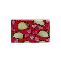 Taco Tuesday Lover Tacos Cosmetic Bag (xs) by BubbSnugg