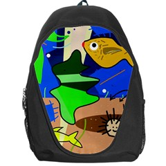 Aquarium  Backpack Bag by Valentinaart