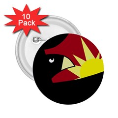 Eagle 2.25  Buttons (10 pack)  by Valentinaart