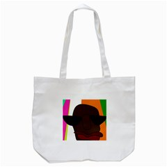 Cool Tote Bag (white) by Valentinaart