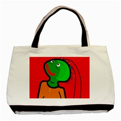 Looking Up Basic Tote Bag by Valentinaart
