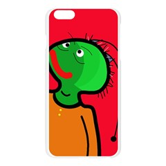 Looking up Apple Seamless iPhone 6 Plus/6S Plus Case (Transparent) by Valentinaart