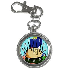 Hedgehog Key Chain Watches by Valentinaart
