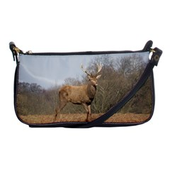 Red Deer Stag On A Hill Shoulder Clutch Bags by GiftsbyNature