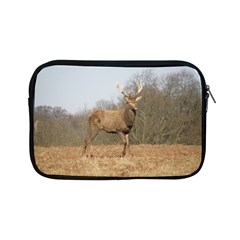 Red Deer Stag On A Hill Apple Ipad Mini Zipper Cases by GiftsbyNature