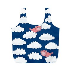 When Pigs Fly Full Print Recycle Bags (m)  by BubbSnugg