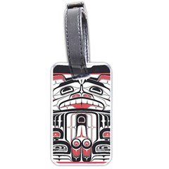 Ethnic Traditional Art Luggage Tags (Two Sides) by Zeze