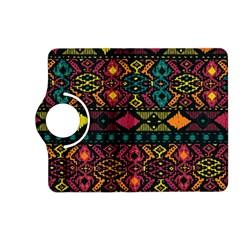 Ethnic Pattern Kindle Fire HD (2013) Flip 360 Case by Zeze