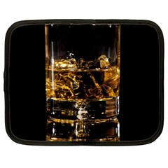 Drink Good Whiskey Netbook Case (Large) by Zeze