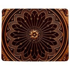 Decorative Antique Gold Jigsaw Puzzle Photo Stand (Rectangular) by Zeze