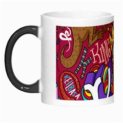 K Pattern Cartoons Morph Mugs