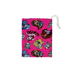 Large 1 Drawstring Pouches (xs)  by AnjaniArt