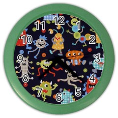 Large Pablic Cartoons Color Wall Clocks by AnjaniArt