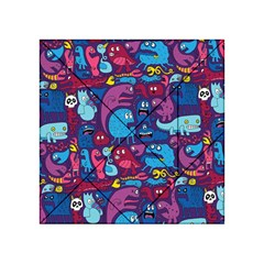 Mo Monsters Mo Patterns Acrylic Tangram Puzzle (4  X 4 ) by AnjaniArt