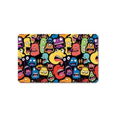 Monster Faces Magnet (name Card)