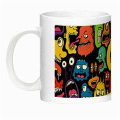 Monster Faces Night Luminous Mugs