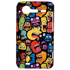 Monster Faces HTC Incredible S Hardshell Case  by AnjaniArt