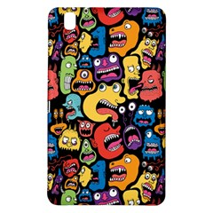 Monster Faces Samsung Galaxy Tab Pro 8 4 Hardshell Case by AnjaniArt