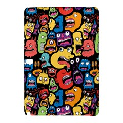 Monster Faces Samsung Galaxy Tab Pro 12 2 Hardshell Case by AnjaniArt