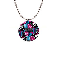 Monster High Button Necklaces