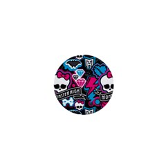 Monster High 03 1  Mini Magnets by AnjaniArt