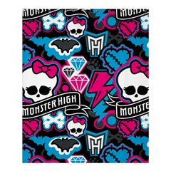 Monster High 03 Shower Curtain 60  X 72  (medium)  by AnjaniArt
