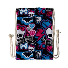 Monster High 03 Drawstring Bag (small) by AnjaniArt