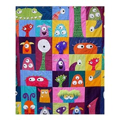 Monster Quilt Shower Curtain 60  X 72  (medium)  by AnjaniArt