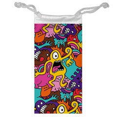 Monsters Pattern Jewelry Bags