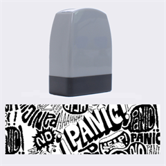 Panic Pattern Name Stamps by AnjaniArt