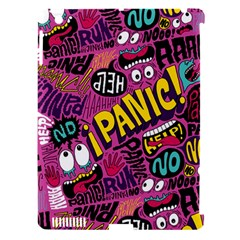 Panic Pattern Apple Ipad 3/4 Hardshell Case (compatible With Smart Cover) by AnjaniArt