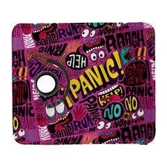Panic Pattern Samsung Galaxy S  Iii Flip 360 Case by AnjaniArt