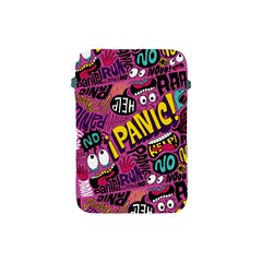 Panic Pattern Apple Ipad Mini Protective Soft Cases by AnjaniArt