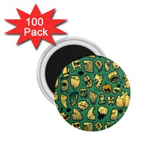 Pattern Linnch 1 75  Magnets (100 Pack)  by AnjaniArt
