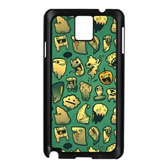 Pattern Linnch Samsung Galaxy Note 3 N9005 Case (Black) by AnjaniArt