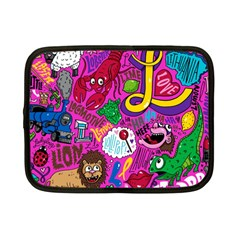 Pattern Monsters Netbook Case (Small)  by AnjaniArt