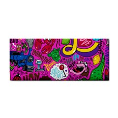 Pattern Monsters Hand Towel