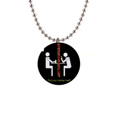 Pict Man Button Necklaces